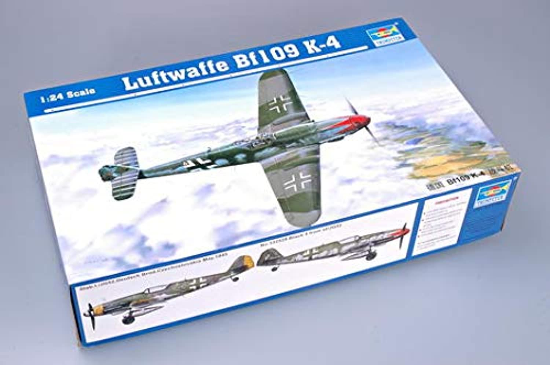 hasta un 65% de descuento Trumpeter 02418Modelo 02418Modelo 02418Modelo Kit Messerschmitt Bf109K 4  precios mas bajos