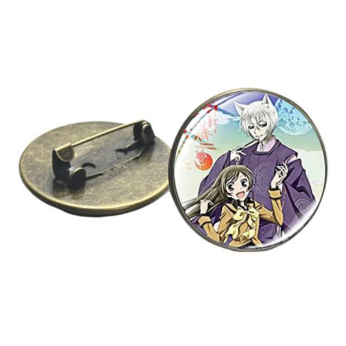 Clásico Dulce Anime Kamisama Love Kiss Broche Pin Insignias Mochila Sombrero Ropa Pines de Solapa para Ventiladores Accesorios de Joyería Decorativos