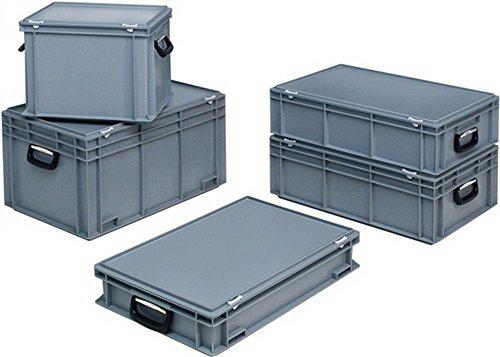 Lockweiler kunststof koffer 70l PP+2grepen L600xB400xH353mm PC702M-139