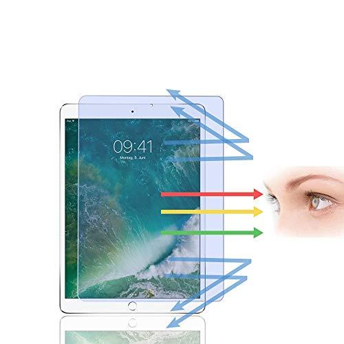 PaceBid Anti Luz Azul Protector de Pantalla Compatible con iPad Pro 10.5/ iPad Air 3/ iPad Air 10.5 2019, [Alivie la Fatiga Ocular][Bloquea Excesivas la luz Azul Dañina & UV Rayos ][Alta Definición ]