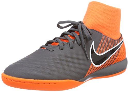 Nike Herren Magista ObraX 2 Academy DF IC Fußballschuhe, Grau (Dark Greyblacktotal Orangew 080), 41 EU