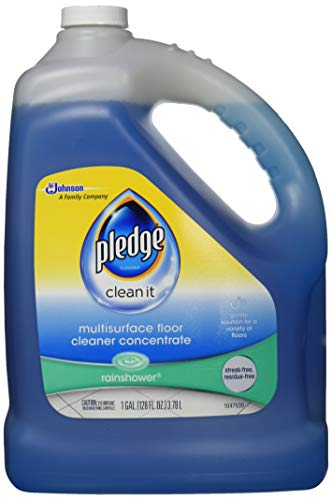 Product Image of the Pledge Multi-Surface Floor Cleaner Concentrated Liquid, Shines Hardwood, Rainshower, 1 Gallon