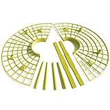 Lopbinte 10 unids/set planta herramienta plástica fresa cultivo círculo soporte rack agricultura marco jardinería vid