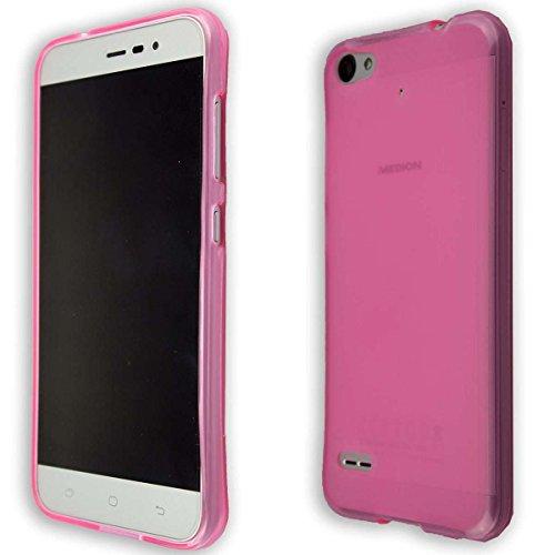 caseroxx TPU-Hülle für Medion P5006 MD 60752, Tasche (TPU-Hülle in pink)