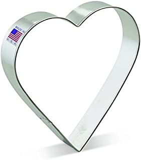 metal heart shaped cookie cutters