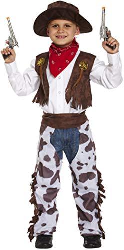 Disfraz infantil vaquero Pequeño 4-6 AÑOS