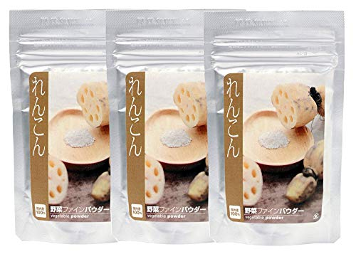 【Amazon.co.jp限定】 れんこんパウダー 40g入 ×3袋