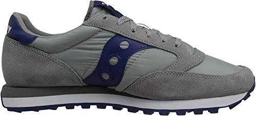Saucony Baskets Fitness pour homme - gris/bleu - 42.5 EU