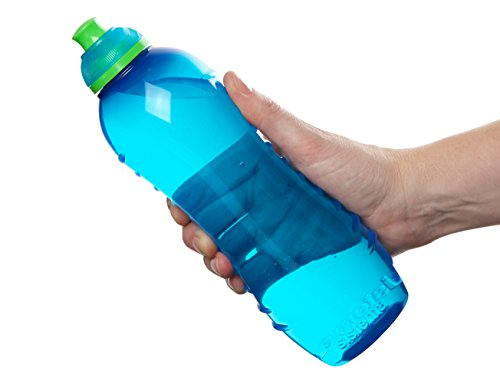 Sistema 795 Water Bottle | Twist 'n' Sip Sports Water Bottle | 620 ml | BPA-Free | Assorted Colours