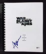 Andy Serkis Autographed Signed War For The Planet Of The Apes Script Bas #C63071 - Certified Signature