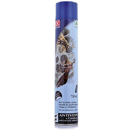 KOLLANT Spray ANTIVESPE Getto da 4 Metri - BOMBOLA 750 ML