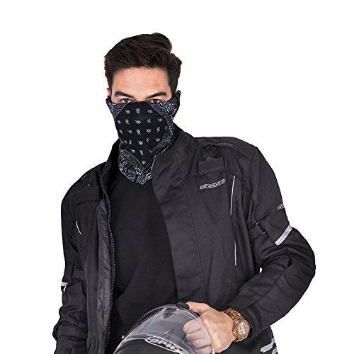 Tioamy Kopfbedeckung Bandana Funktionstücher mehrzweck Halbe Gesichtsmaske Motorrad Gesichtsmasken Nahtlose Balaclava Banana Atmungs Nackenwärmer - 5