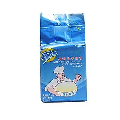 Tentenentent 500g Bread Yeast Active Dry Yeast High Glucose Tolerance Kitchen Baking Supplies
