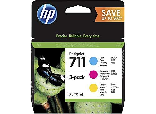 HP 711 Multipack Original Druckerpatrone (für HP DesignJet)