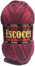 Estambre Escocés 100% lana madeja de 100 grs. (Grosella)