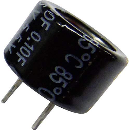 5x Goldcap Kondensator 0,47F 5,5V ; RM5 d21,5x9,5mm ; EECF5R5H474