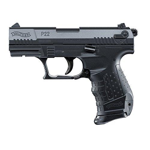 Umarex Softair P22 inklusiv Ersatzmagazin mit Max 0.5 Joule Airsoft Pistole, Schwarz, 6 mm