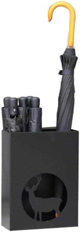 GWDJ Umbrella 5 ☆ very popular Stand Iron Rack Free online shopping Umb Standing
