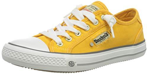Dockers by Gerli Damen 42ve201-700960 Sneaker, Golden Glow, 39 EU