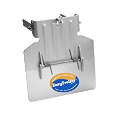 Slow your boat to the ideal trolling speed; patented spring hinge design flexes upward to prevent damage to the trolling plate under accidental acceleration The optional hydrofoil trolling plate model combines two products into one to improve handlin...