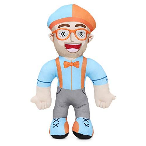 JBOBO 4 Piezas por Juego / 32 cm Los Juguetes de Peluche Son como disfrazarse y Vienen con Corbata de Lazo Naranja, Sombreros, Gafas y Correa para el telfono, Juego de Roles.