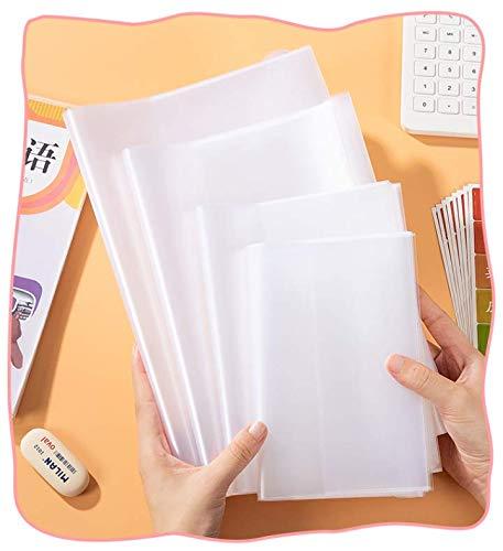 ブックカバー 教科書カバー 透明 雑誌 カバー フィルム 保護シート しっかり 厚め 0.2mm 10枚セット (22K A5版)