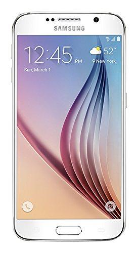 Samsung Galaxy S6 Unlocked SM-G920A GSM Smartphone, White Pearl, 32GB