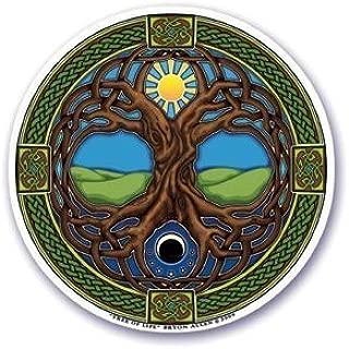 Mandala Arts Window Sticker