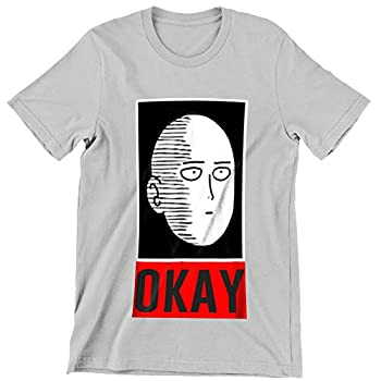 Onepunch Man Saitama One Punch Man Genos Saitama Otaku Okay Face Oppai Shirt