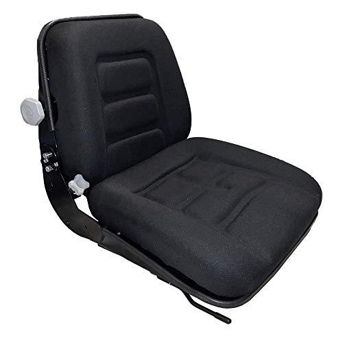 GS12 Fahrersitz Staplersitz Baumaschinensitz stoff Schwarz
