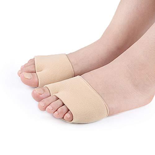 足裏保護パッド 外反母趾矯正グッズ 痛み緩和 サポーターフットケア 偏平足改善 種子骨パッド インソール (1組のパッケージ)(s)