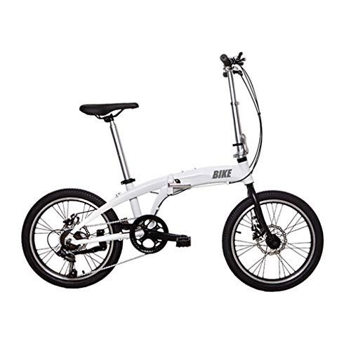 TYXTYX Folding Bicicleta Plegable Ruedas de 20