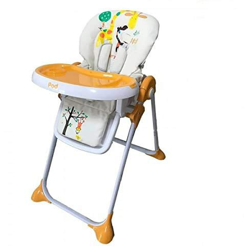 Star Ibaby Pod Giraffe - Trona para Bebes Reclinable, Altura Regulable en...
