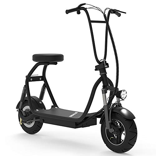 Electric Bicycle / E-Bike / Scooter 350W 48V 18.6 Miles Long-Range Battery Foldable Easy Carry Portable Design, Adult Electric Scooter Up to 18 MPH Commuter Scooter (Black)