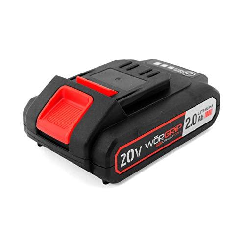 Recambio Batería para Taladro Percutor, Worgrip Pro, Lithium 20 V