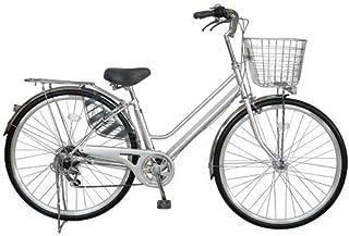 パンクしない自転車 軽快車 27型 外装6段変速 27インチ
