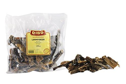DIBO lampen, 250 g zak, de kleine natuur snack of lekkernij voor tussendoor, hondenvoer, kwaliteitskauartikel zonder chemicaliën