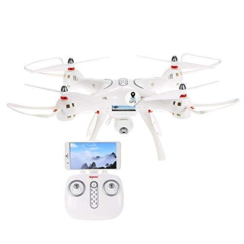 Syma X8 Professionel GPS Quadrocopter 2.4 GHz 720p HD-Kamera
