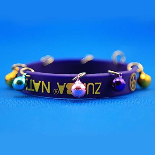Xi-Link Zumba Movimiento De Silicona Pulsera Pulsera De Moda De Campana (Color : Purple)