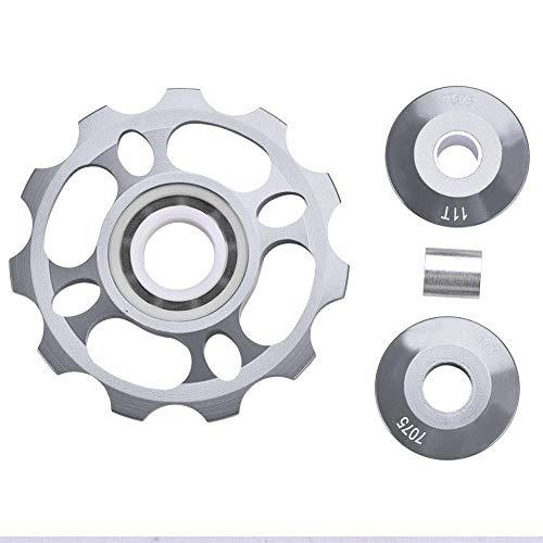 Broco 11T Rädchen Schaltwerk Riemenscheibe for Mountainbike-Ersatzteile (Titanium Color)