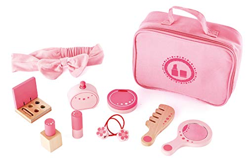 Hape International E3014 Kollektion, Rollenspiel-Set Beauty, ab 3 Jahren, rosa