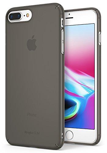 Ringke Slim Compatibel met iPhone 8 Plus hoesje, iPhone 7 Plus hoesje, beschermhoes voor iPhone 8 Plus / 7 Plus - Frost Black