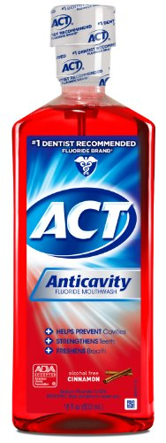 Best act anticavity fluoride rinse cinnamon for 2021