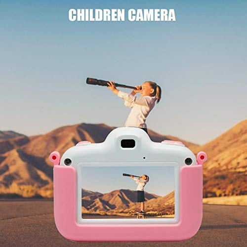 Kindercamera, digitale camera, scherm, digitale fotocamera, 3 inch touchscreen, camera, digitale games, videocamera voor kinderen, verjaardagscadeau roze