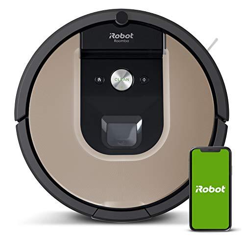 iRobot Roomba 966- Robot aspirador con Wi-Fi, dos cepillos d