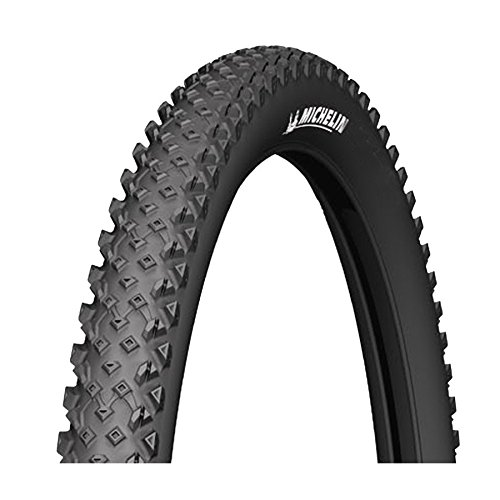 Michelin 537359 Cubierta, Fahrradreifen Country Race R, Schwarz, (26x2.1), FA3464022, Negro, 26x2.10