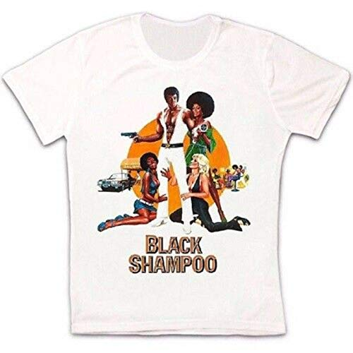 Black Shampoo 70s Movie Thriller Retro Vintage Hipster Unisex T Shirt
