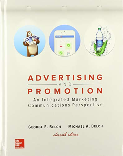 Compare Textbook Prices for GEN COMBO ADVERTISING AND PROMOTION; CONNECT ACCESS CARD 11 Edition ISBN 9781260197044 by Belch, George