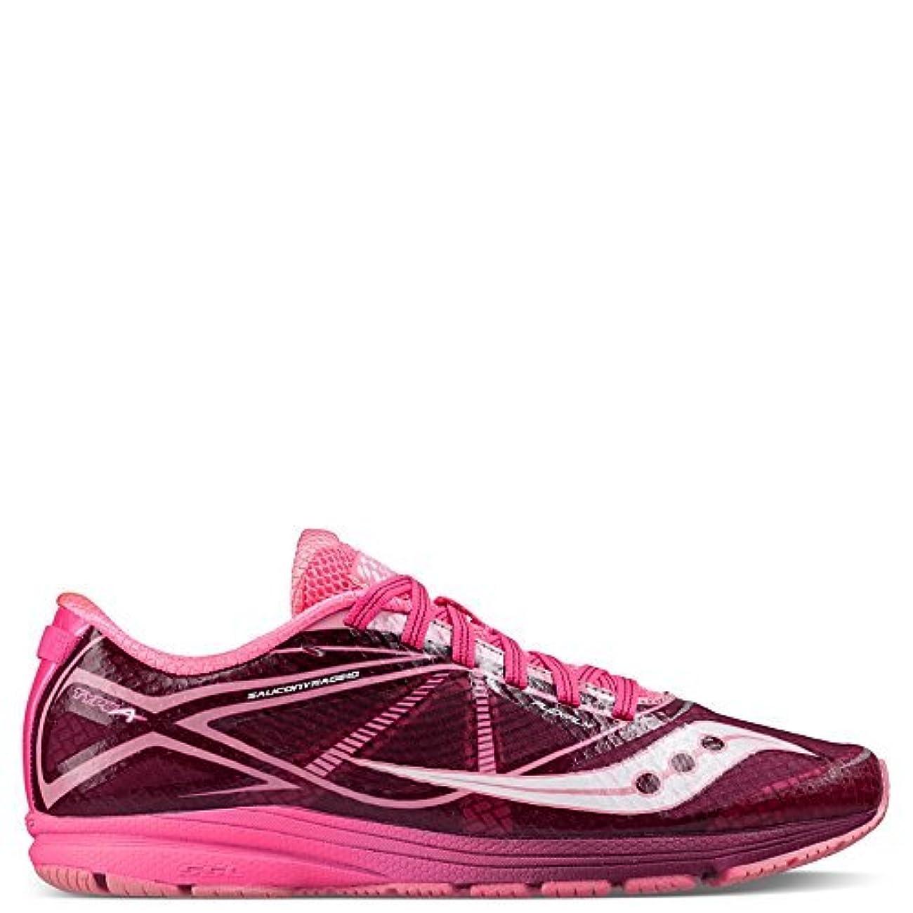 オリエンタルペリスコープ排除Saucony Women's Type A Running ShoePink/PurpleUS 9 M [並行輸入品]