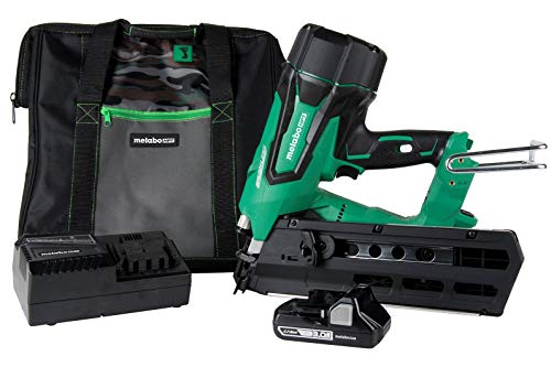Metabo HPT Cordless Framing Nailer Kit, 18V, Brushless Motor, 2' Up To...